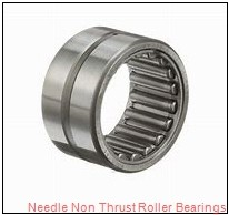 0.394 Inch | 10 Millimeter x 0.669 Inch | 17 Millimeter x 0.787 Inch | 20 Millimeter  CONSOLIDATED BEARING RNAO-10 X 17 X 20  Needle Non Thrust Roller Bearings