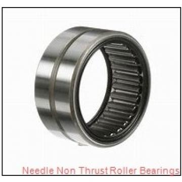 0.984 Inch | 25 Millimeter x 1.299 Inch | 33 Millimeter x 0.63 Inch | 16 Millimeter  CONSOLIDATED BEARING NK-25/16 P/6  Needle Non Thrust Roller Bearings